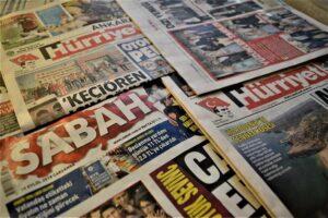 """Das deutsche Außenministerium sieht die türkische Medienlandschaft als """"nahezu vollständig gleichgeschaltet"""". (© imago images/Altan Gocher)"""