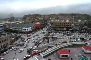 Erbil, Haupstadt der Kurdischen Regionalregierung im Nordirak. (© imago images/ZUMA Press)