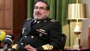 Der Leiter des Obersten Nationalen Sicherheitsrates des Iran, Ali Shamkhani