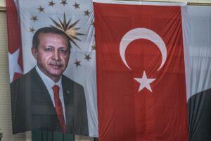 Weltmeister in Sachen grenzüberschreitender Unterdrückung: die Türkei unter Präsident Erdogan. (© imago images/GocherImagery)