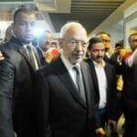 Tunesiens Islamistenführer Rached al-Ghannouchi ist in seiner Ennahda-Partei nicht mehr unumstritten. (© imago images/ZUMA Wire)