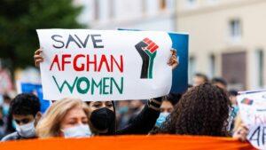 Solidaritätsdemonstration für Afghanistan