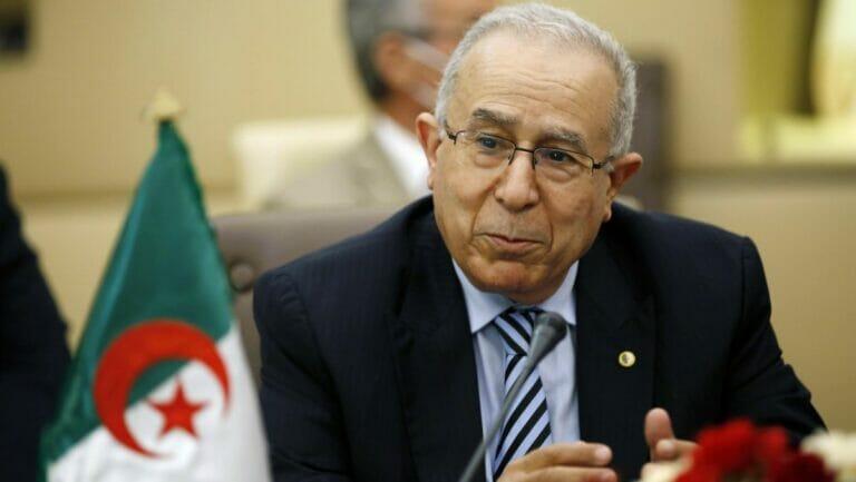 Algeriens ußenminister Ramtane Lamamra