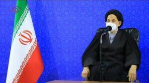 Ddr Vertreter des iranischen Obersten Führers Ali Khamenei in der südlichen Provinz Khorasan, Alireza Abadi
