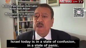 Der britisch-palästinensische Journalist Abdel Bari Atwan