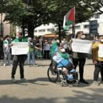 Demonstranten in Daraa fordern ein Ende der Kämpfe in Daraa