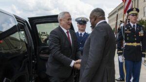 Israels Verteidigungsminister Benny Gantz zu Besuch in den USA