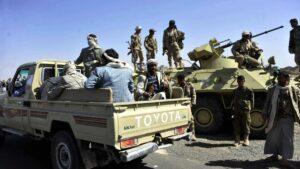 Kämpfer der Huthi-Milizen im Jemen