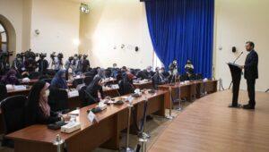 Der Sprecher des iranischen Außenministeriums, Saeed Khatibzadeh