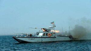 Iranisches Raketenboot der Klasse C-14