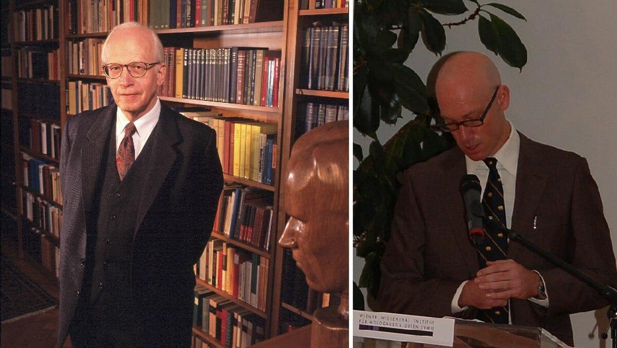 Relativiert von rechts: Ernst Nolte, relativiert von links: Dirk Moses