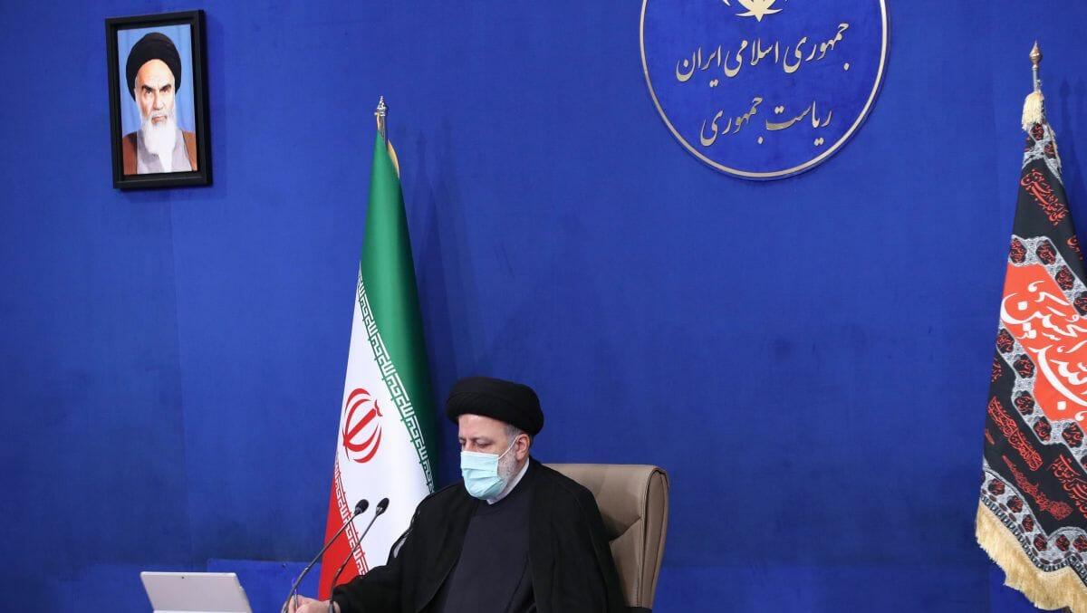 Der iranische Präsident Ebrahim Raisi