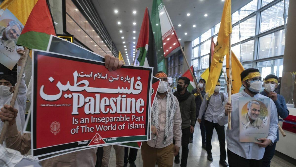Iranische Anhänger des von den USA getöteten Revolutionsgardisten Qasem Soleimani