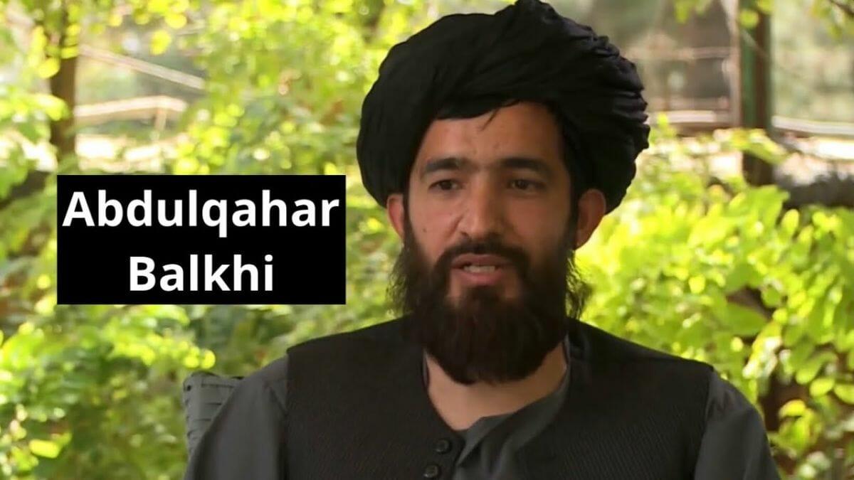 Taliban-Funktionär Abdul Qahar Balkhi