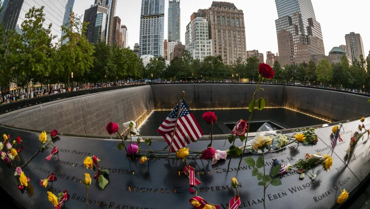 Gedenken zum 20. Jahrestag der Anschläge von 9/11
