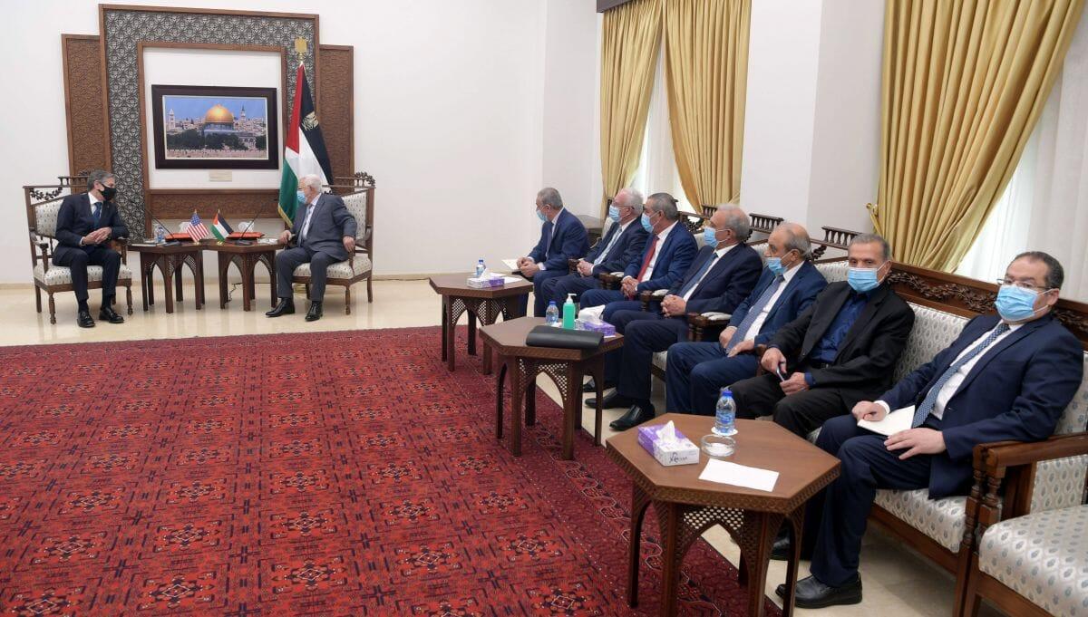 US-Außenminister Blinken zu Besuch bei PA-Präsident Abbas