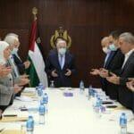 Hamas kritisiert PA_Präsident abbas für dessen Treffen mit ISraels Verteidigungsminister Gantz