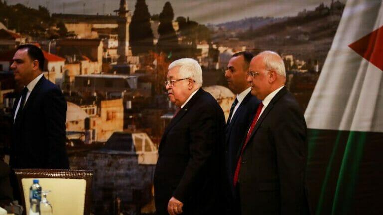 Präsident der Palästinensischen Autonomiebehörde Mahmud Abbas