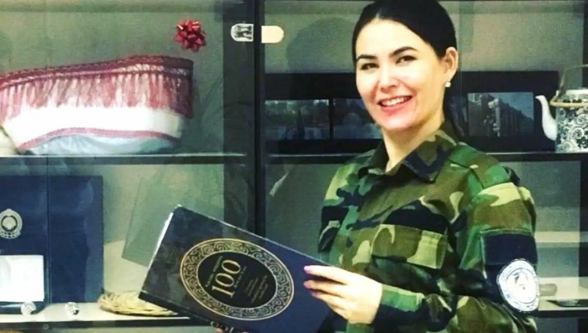 Die hochrangige afghanische Polizistin Gulafroz Ebtekar