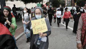 Solidaritätsdemonstration mit afghanischen Journalistinnen und Journalisten