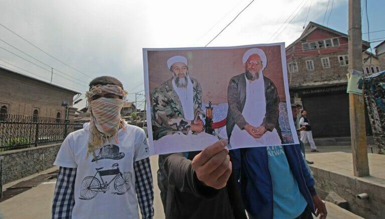 Osama bin Laden und Ayman al-Zawahiri: Al-Qaida-Sympathisanten in Indien