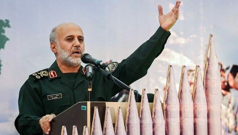 Der iranische Militärkommandeur Gholam Ali Rashid