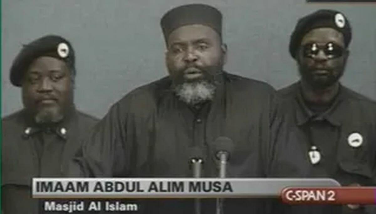 Der Leiter der Masjid Al-Islam in Washington, Imam Abdul Alim Musa