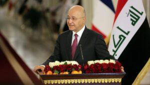 Auch der iraksiche Präsident Salih lehnte die Froderung nach Normalisierung mit Israel ab