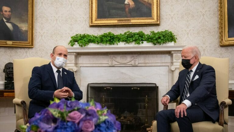 Israels Premier Bennett bei US-Präsident Biden