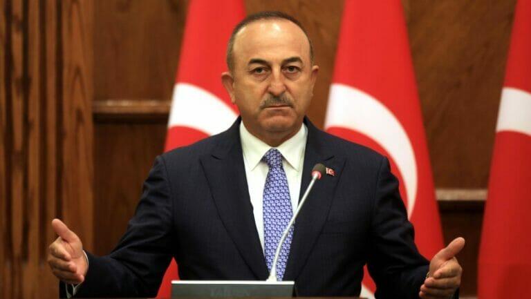 Der türkische Außenminister Mevlüt Çavuşoğlu