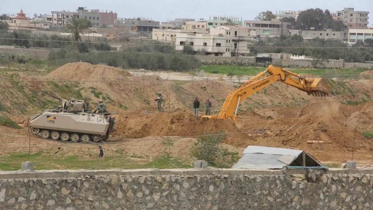 Immer wieder geht Ägypten gegen die Schmugglertunnel aus Gaza vor
