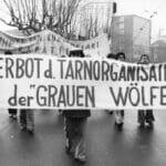 """Türkische Demonstranten in deutschland fordern bereits 1980 ein Verbot der """"Grauen Wölfe"""""""