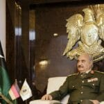 Der Kommandeur der im Osten des Landes stationierten Libysch-Nationalen Armee, Khalifa Hafta