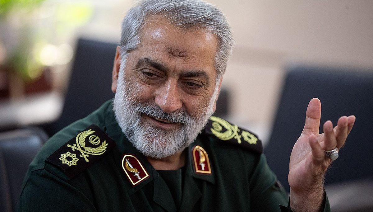 Der Sprecher der iranischen Streitkräfte, Brigadegeneral Abolfazl Shekarchi