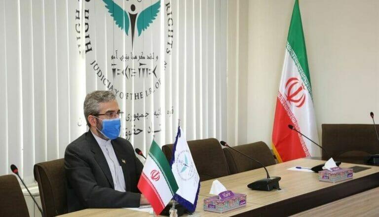Der von der neuen iranischer Regieurng zum Atomverhandler ernannte Ali Bagheri Kani