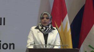 Haftbefehl gegen Sahar al-Ta'i wegen Teilnahme an Friedenskonferenz