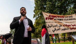 Der geschäftsführende Direktor der American Muslims for Palestine Osama Abuirshaid