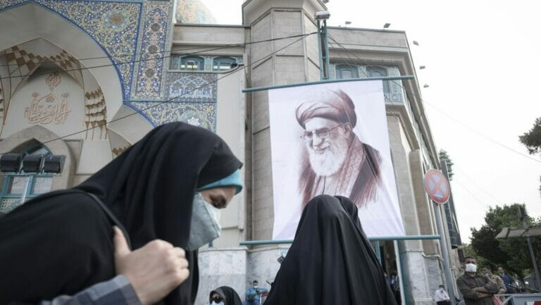 Der Oberste Führer des Iran: Ayatollah Al Khamenei