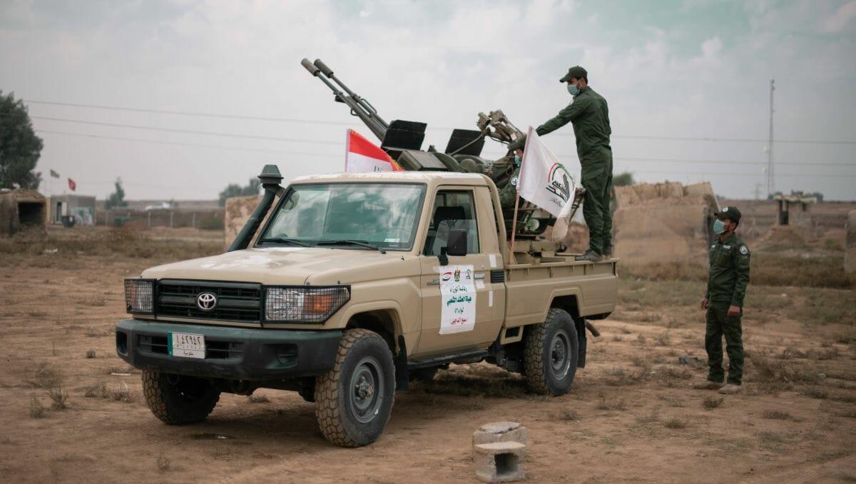 Pro-iranische Miliz der schiitischen Volksmobilisierungskräfte im Irak