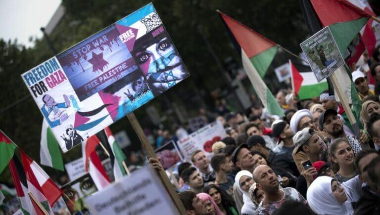 Antisemitischer Quds-Marsch 2014 in Berlin