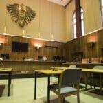 Gerichtssaal im Straflandesgericht Graz