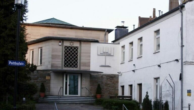 Die Synagoge im deutschen Hagen