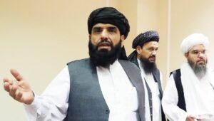 Taliban-Sprecher Suhail Shaheen
