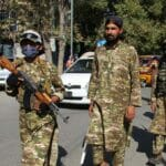Checkpoint der Taliban in der afghanischen Stadt Kundus