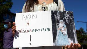 Demosntration für die Rechte afghanischer Frauen