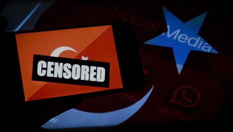 In Sachen Internetfreiheit ist die Türkei ist das Schlusslicht Europas