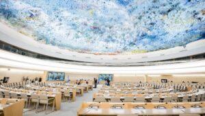 Der UNO-Menschenrechtsrat in Genf