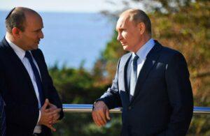 Die Rolle des Iran in Syrien war mit Sicherheit ein Thema beim jüngsten Treffen von Israels Premier Naftali Bennett mit dem russischen Präsidenten Vladimir Putin. (© imago-images/SNA)