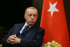 Das Außenministerium der Türkei soll mit der sturen Haltung des Präsidenten alles andere als glücklich gewesen sein. (© imago images/ITAR-TASS)