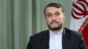 Der iranische Außenminister Hossein Amir-Abdollahian stellt Bedingungen für Rückkehr zu Atomverhandlungen